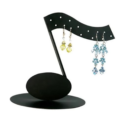 Music Note Shaped Earring Display Stand from Nile Corp