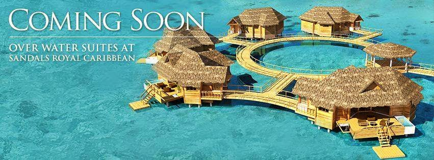 Overwater Bungalows Sandals Royal Caribbean Jamaica