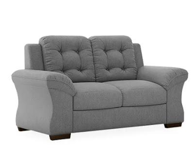 Sofá cinza para sala