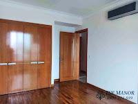 Chung cư The Manor 1 tầng thấp bán hoặc cho thuê nhà trống | phòng ngủ có sàn gỗ
