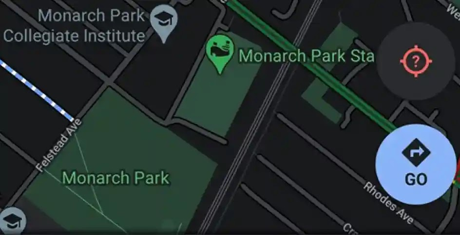 Google is soon to rollout for Android users from Google MapsDark Mode