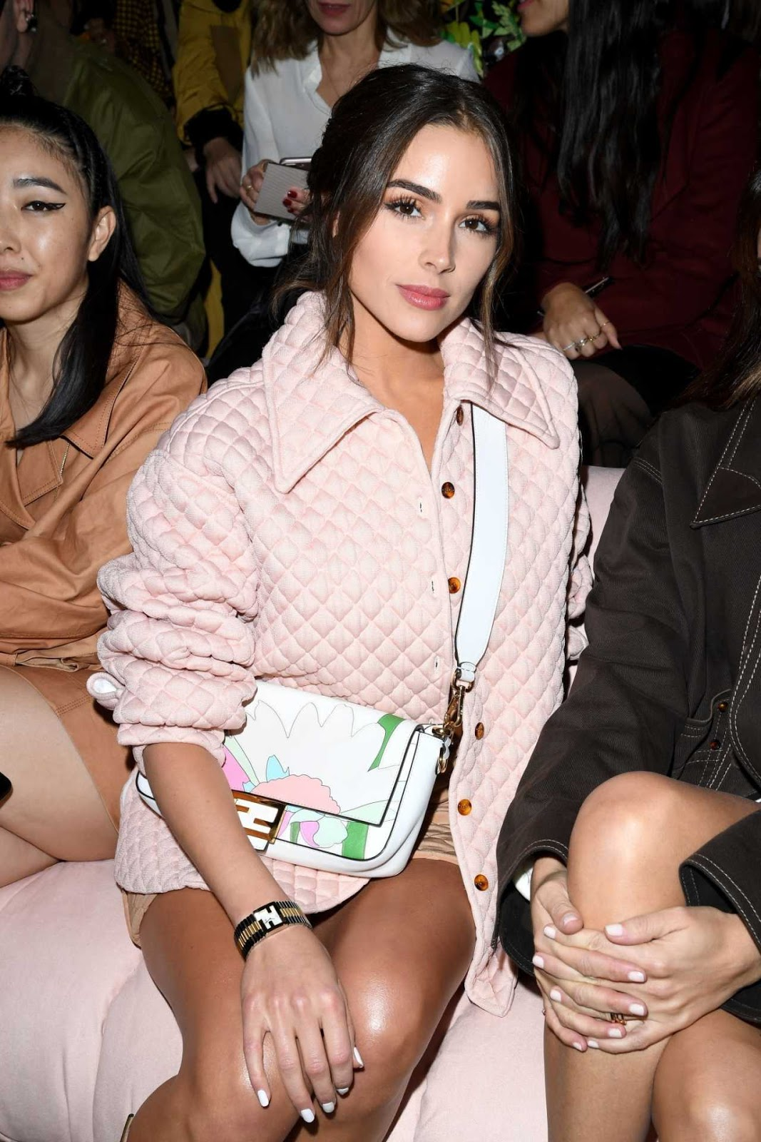 Olivia Culpo Looks Hot in Awesome Pink Outfit