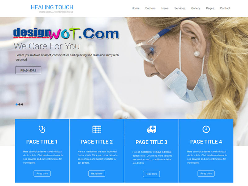 Healing Touch WordPress Theme