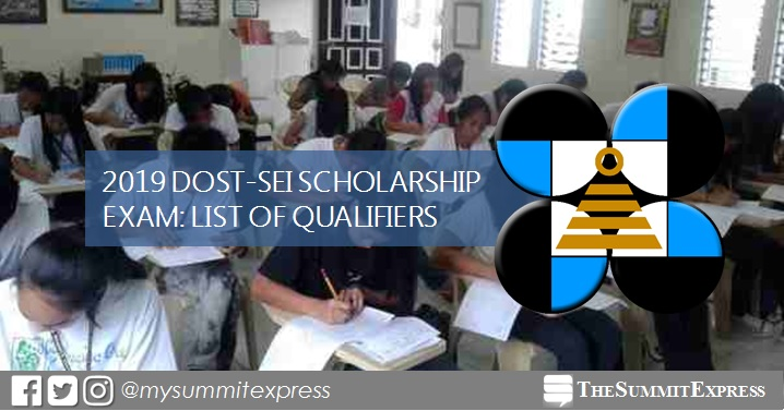 LIST OF PASSERS: DOST Scholarship Exam Results AY 2019-2020