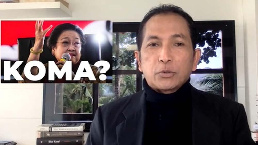 Duh! Dianggap Sebarkan Hoaks Megawati Sakit, Hersubeno Arief Bakal Dilaporkan GBN ke Polisi