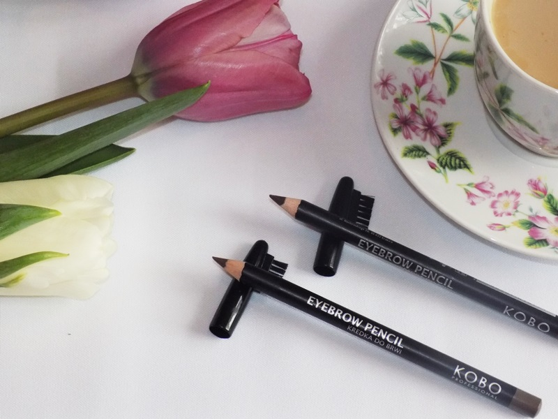 Kredki do brwi Eyebrow Pencil od Kobo Professional- Recenzja.