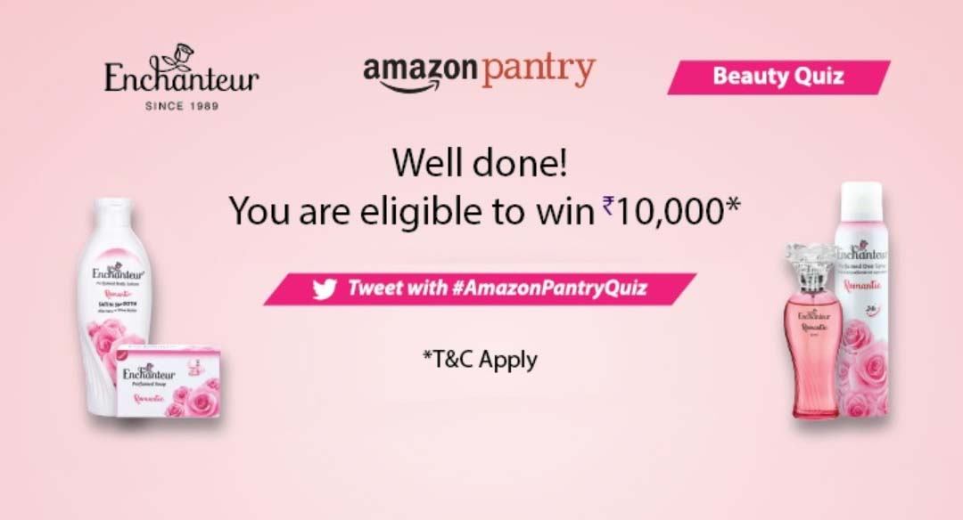 Amazon Pantry Beauty Quiz Answers