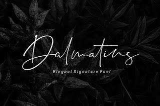 Dalmatins - Elegant Signature Font