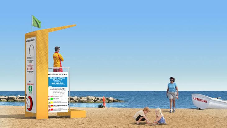 The New Lifeguard Stands