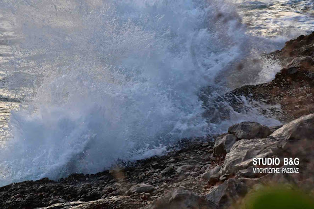Θυελλώδεις άνεμοι 8 Μποφόρ στο νοτιοδυτικό Αιγαίο