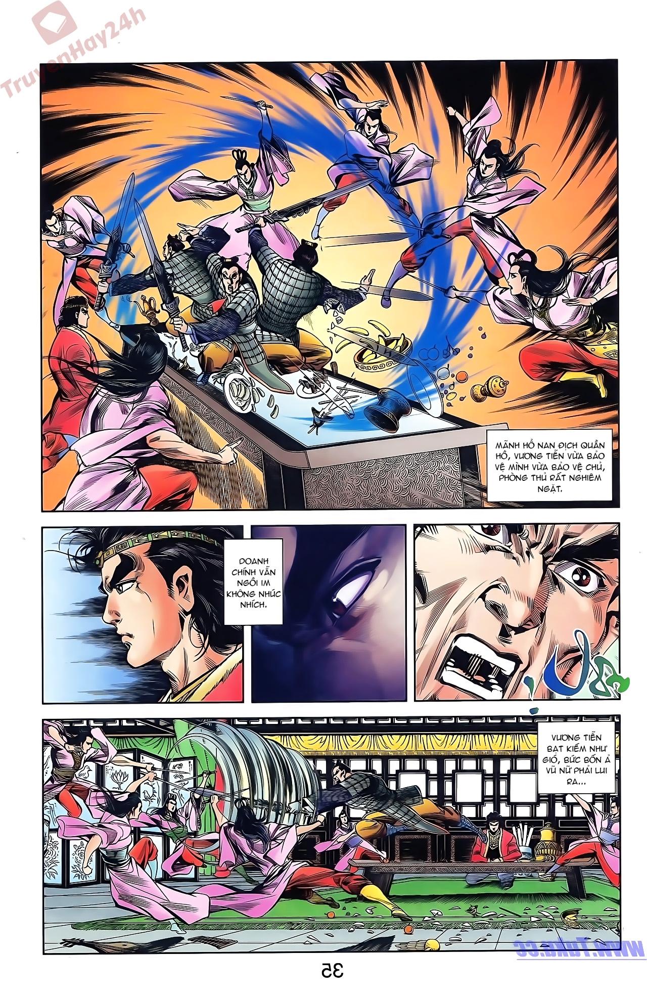 Tần Vương Doanh Chính chapter 43 trang 7