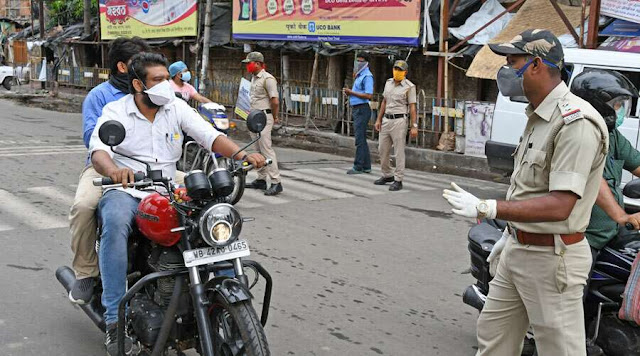 Cops hit streets to enforce lockdown in Siliguri