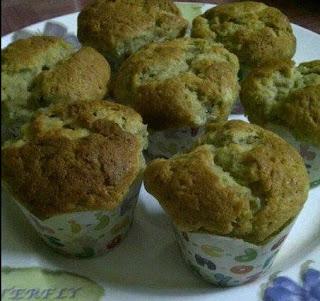 Bahan Muffin Pisang Ambon