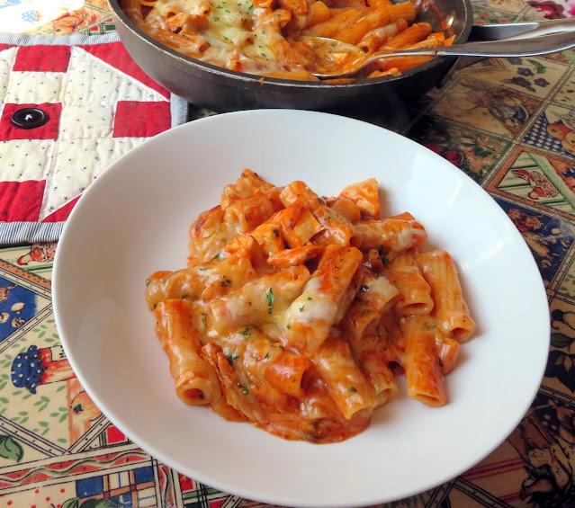 Chicken & Parm Pasta Skillet