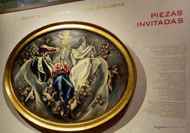 """""""Ascensão de Nossa Senhora"""", quadro de El Greco no Museu Casa de El Greco, Toledo, Espanha"""