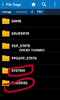 Cara Pasang Shaders di Emulator PPSSPP Android