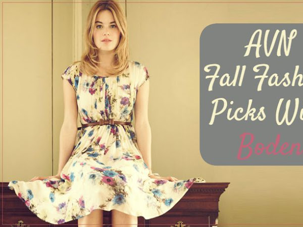 AVN Fall Fashion Picks With Boden