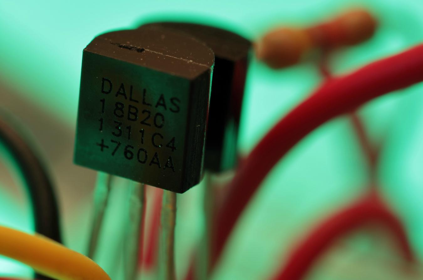 Medir temperatura com sensor DS18B20.