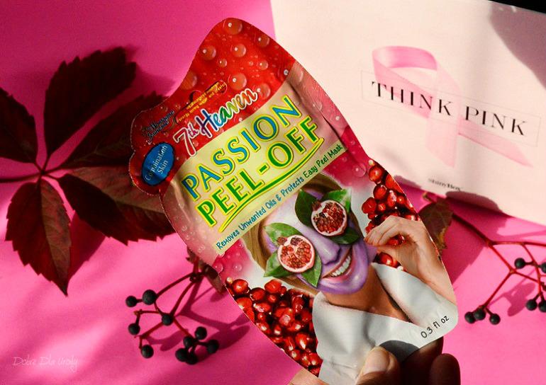 THINK PINK by ShinyBox - 7th Heaven Maseczka do twarzy oczyszczająca Owocowy Peel Off