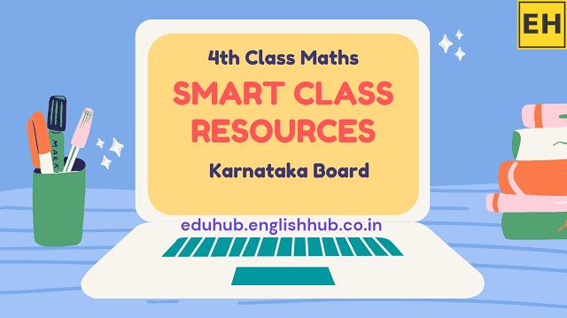 4th Class Mathematics Lessons | PDFs and PPTs | Karnataka Board
