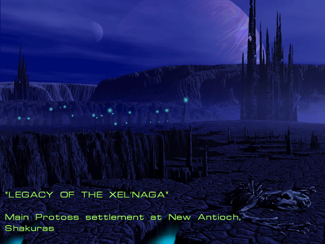 Mission 3: Legacy of the Xel'Naga.