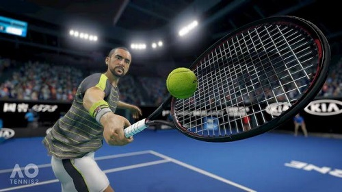 AO Tennis 2 Career Mode