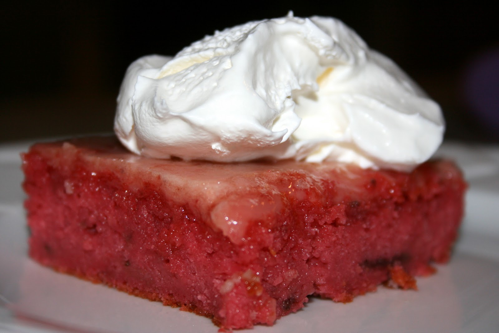 Strawberry Cake With Jello And Cool Whip