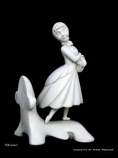 pierre rouzier - Disney - Cinderella_bookends_maquette