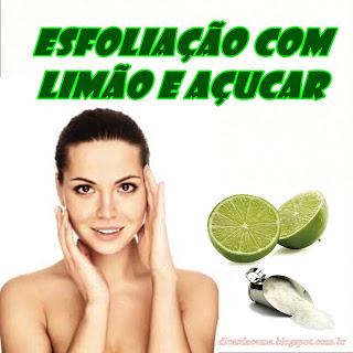 Esfoliação-caseira-com-limão-e-açúcar