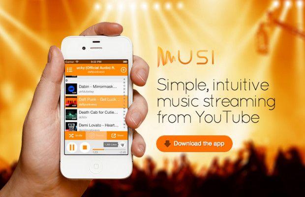 Tải App Musi - Simple Music Streaming | Ứng Dụng Nghe Nhạc Youtube Khi Tắt Màn Hình