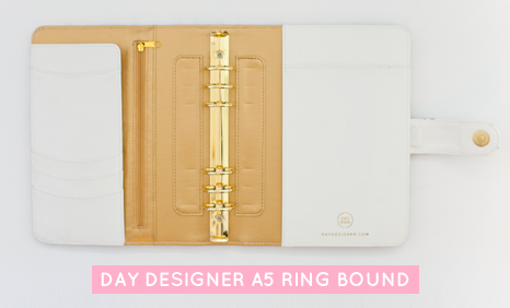 Day Designer A5 Ring Bound Planner