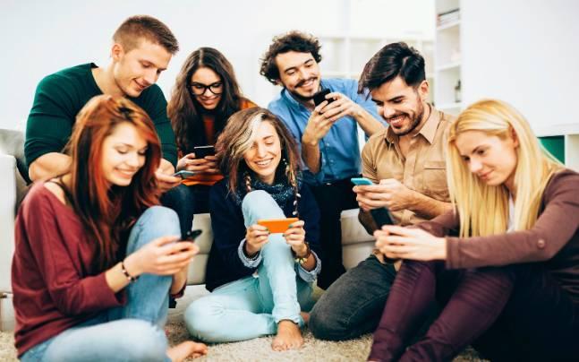 smart phones people
