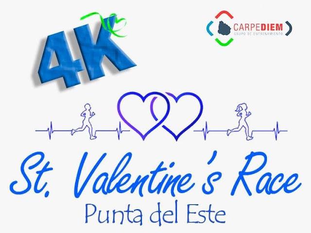 4k St. Valentine´s Race en Punta del Este (Maldonado, 14/feb/2020)