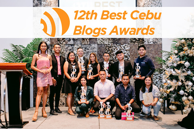 the 12th Best Cebu Blogs Awards