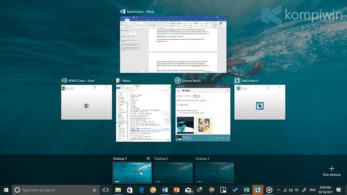 virtual desktop windows 10 kelebihan