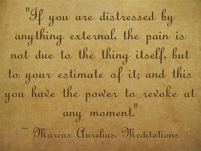 Quote From Marcus Aurelius Meditation