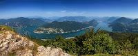 Vista panoramica dal monte san Giorgio