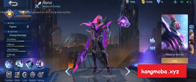 Script Skin Villain Alpha General Void Full Effect + Voice Mobile Legends