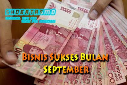 Bisnis Sukses Bulan September Yang Harus Dicoba