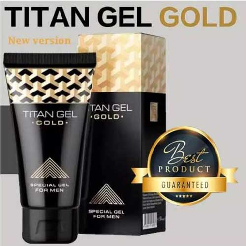 Titan Gel Gold Rusia Asli