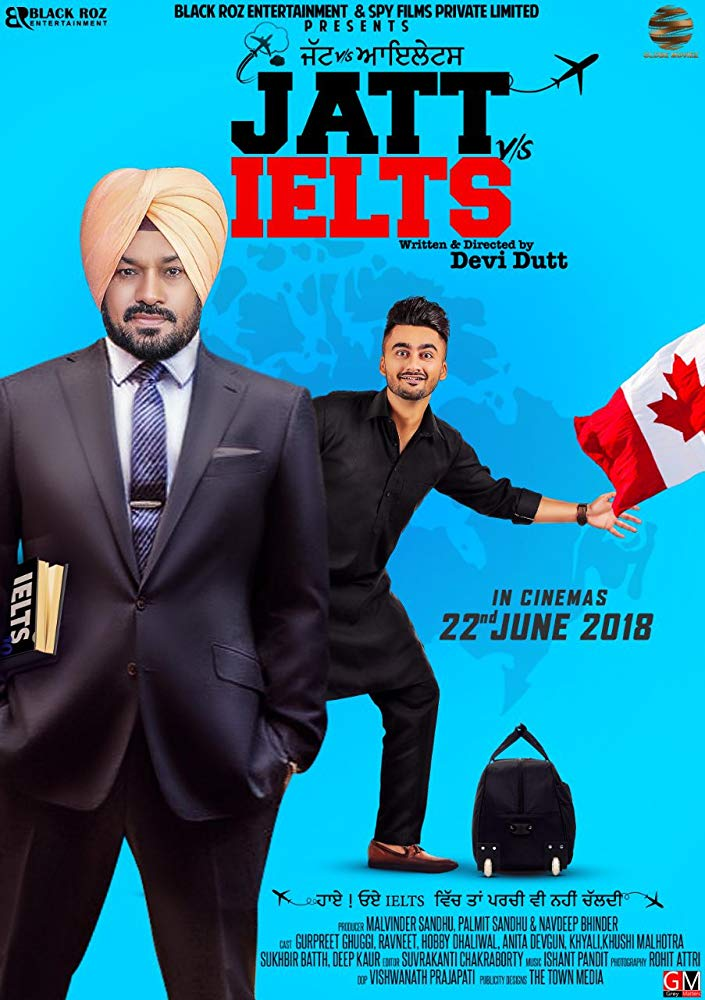 New Hindi Movei 2018 2019 Bolliwood: Jatt Vs Ielts 2018 Punjabi Movie 480p HDRip