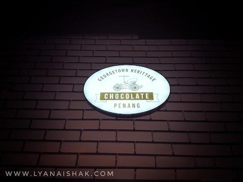 Kena Singgah Sini Kedai Coklat │Georgetown Heritage Chocolate & 3D Chocolate Museum in Penang