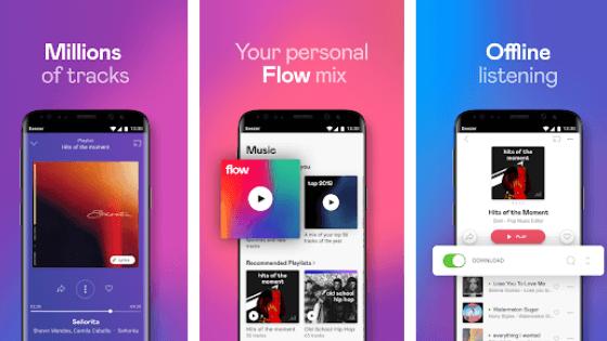 Aplikasi Deezer Music Player
