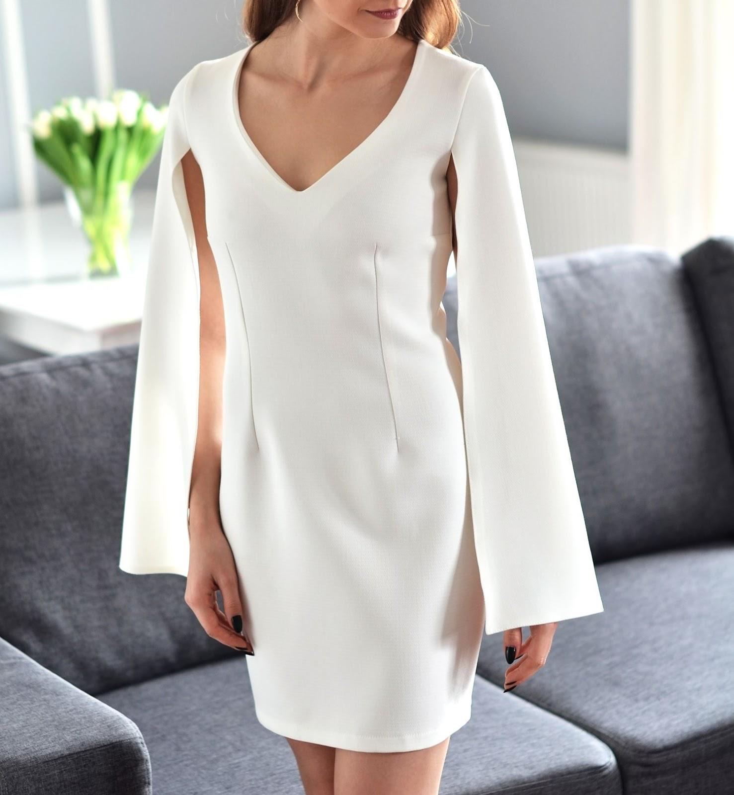 biala sukienka | sukienka na lato
