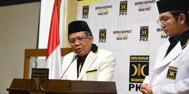 Pilpres 2019, Presiden PKS mengaku diajak istana agar dukung Jokowi