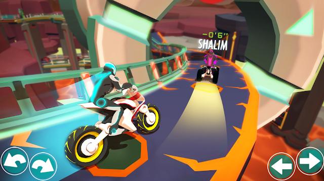لعبة سباق السرعة القصوى للدراجات النارية Gravity Rider Race Game for android2