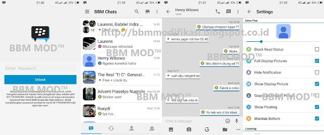 Daftar BBM Mod IOS Versi 2.12.0.11 apk Keren
