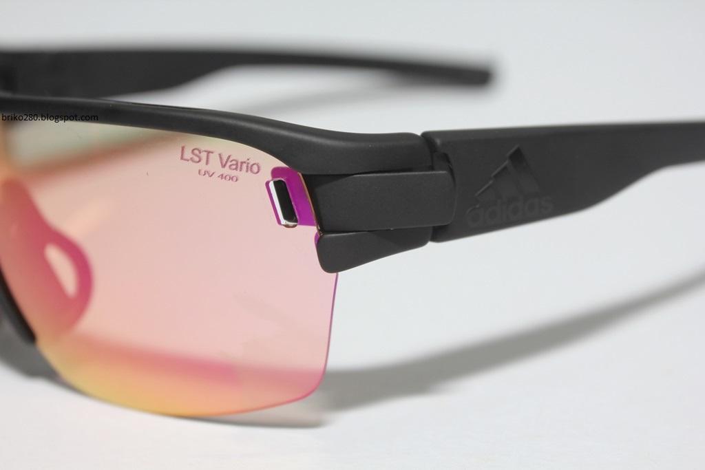 adidas Zonyk Aero Pro S - ad05 9100. Matt Black frame with LST Bright Vario  Purple Mirror Photochromic lense 8332ddbe240
