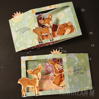 Love You Deerly Card by May Guest Designer Jeannean Marshall | Deer Friend Stamp Set by Newton's Nook Designs #newtonsnook #handmade