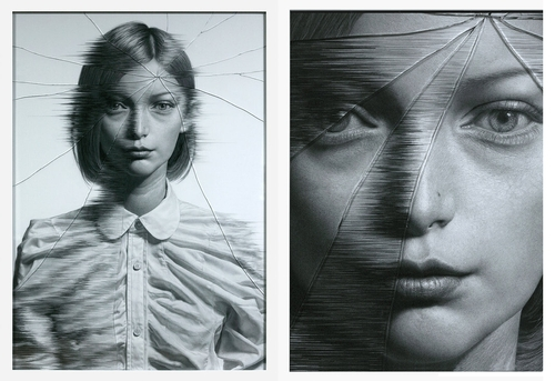 00-The-Cracked-Portrait-Pencil-Drawing-and-Glass-www-designstack-co